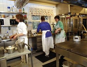 Kjøkkenet vårt...